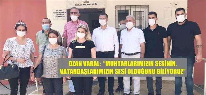 Tarsus CHP, muhtar ziyaretlerine aralıksız devam ediyor