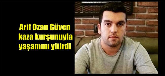 Tarsuslu yedek astsubay Arif Ozan Güven, kaza kurşunuyla yaşamını yitirdi
