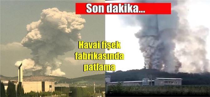 Sakarya'da havai fişek fabrikasında büyük patlama; 41 yaralı