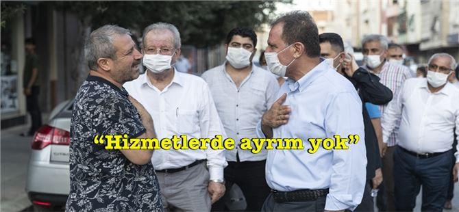 Başkan Seçer, Kurdali Mahallesi'nde vatandaşlarla buluştu