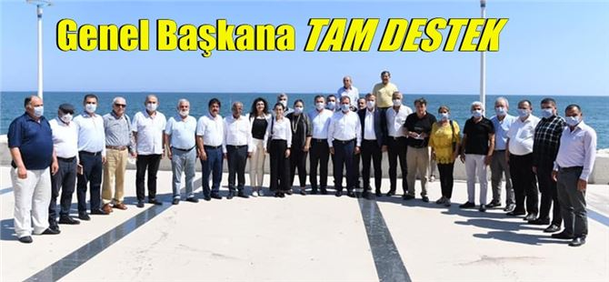 CHP'nin Mersin kurultay delegelerinden Kılıçdaroğlu'na tam destek