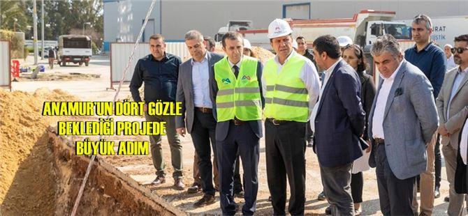 Mersin'in ilçelerinin sorunlarını çözecek projeler için önemli görüşme