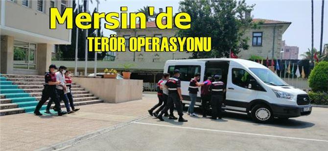 Mersin'de terör örgütü mensubu 5 kişi yakalandı