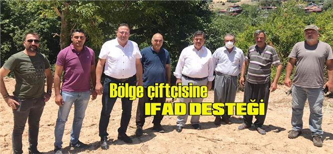 Tarsus'un kırsal mahallelerinde IFAD çalışması