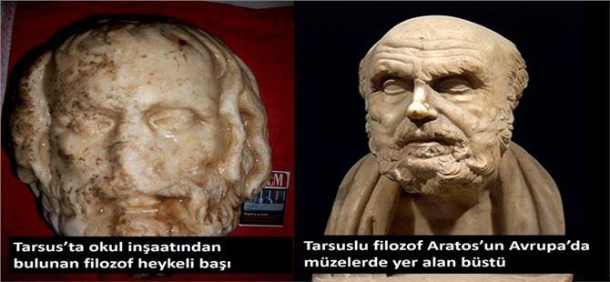 Tarsus'ta 2200 yıllık olduğu belirtilen heykel bulundu iddiası