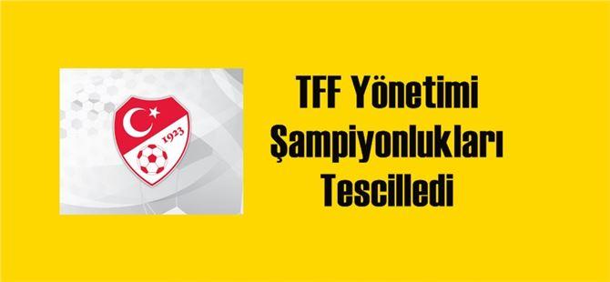 TFF 2. ve 3. ligde şampiyonlukları tescilledi