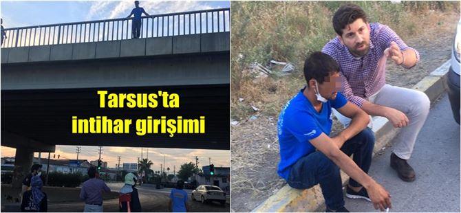 Tarsus'ta intihar girişimlerinin ardı arkası kesilmiyor