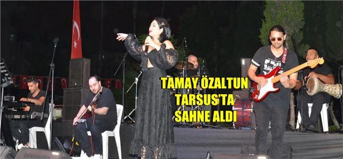 Büyükşehir'in Tarsus'ta sosyal mesafeli konserleri sürüyor
