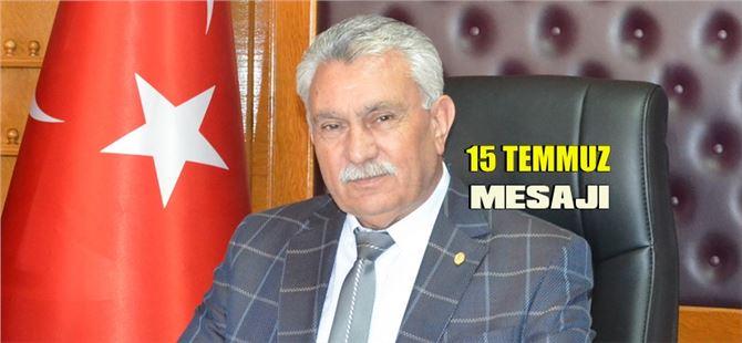 Başkan Erdoğan Yalçın'dan 15 Temmuz mesajı