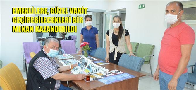 Büyükşehir Belediyesi Tarsus Emekli Evi açıldı