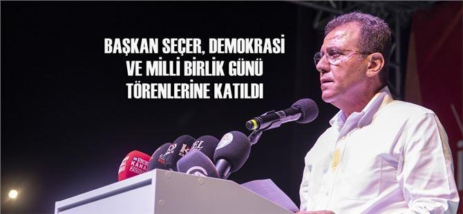 """Seçer: """"Darbe girişimi, Türk halkının feraseti ve cesaretiyle önlenmiştir"""""""
