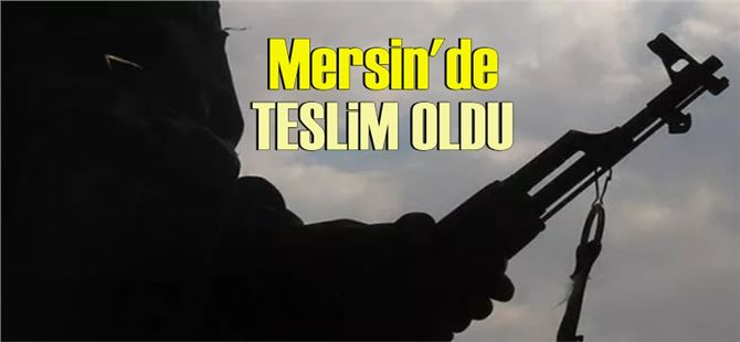 PYD/YPG'nin elebaşlarından Salih Müslüm'ün yeğeni Mersin Emniyeti'ne teslim oldu