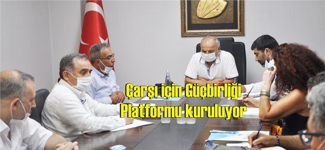 """Başkan Talat Dinçer, """"Ortak paydamız Mersin"""""""
