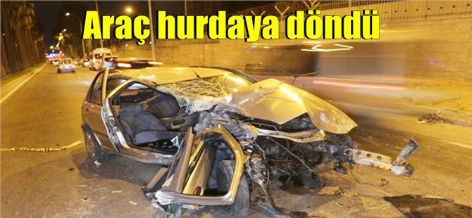 Hurdaya dönen araçta 2 kişi öldü, 3 kişi ağır yaralandı