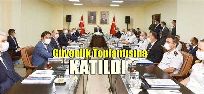 İçişleri Bakanı Süleyman Soylu, Mersin'e geldi