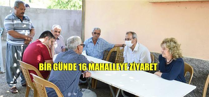 Tarsus Belediyesi'nden 179 Mahalleye Hizmet Eşitliği