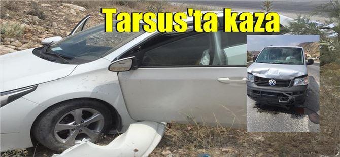 Tarsus'ta kaza: 4 yaralı