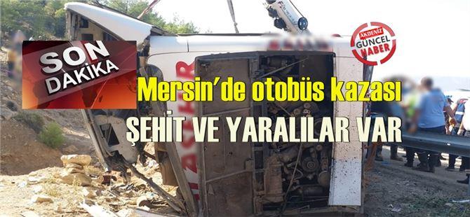 Son dakika; Mersin Mut'taki kazada 5 asker Şehit oldu, şoför öldü