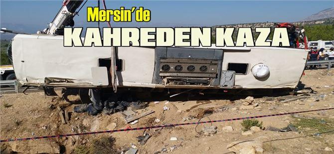 Mersin'de kahreden kaza: 4 asker Şehit, 2 şoför öldü