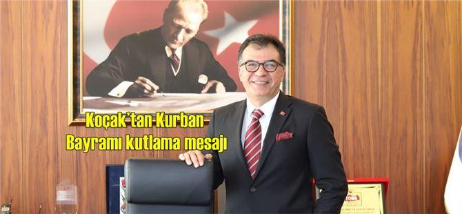 Başkan Koçak'tan Kurban Bayramı kutlama mesajı