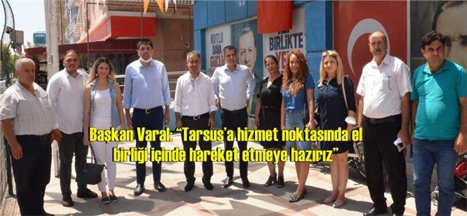 Tarsus CHP'den, Ak Parti'ye Ziyaret
