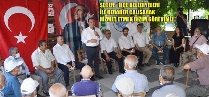 Başkan Seçer, bayramın 3. gününde Çamlıyayla halkıyla buluştu