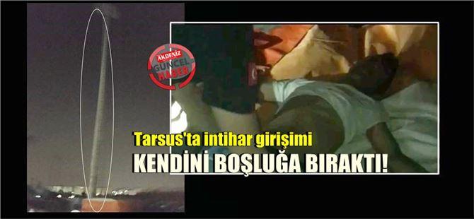 Tarsus'ta itfaiyenin şişme botu intihar girişimini engelledi