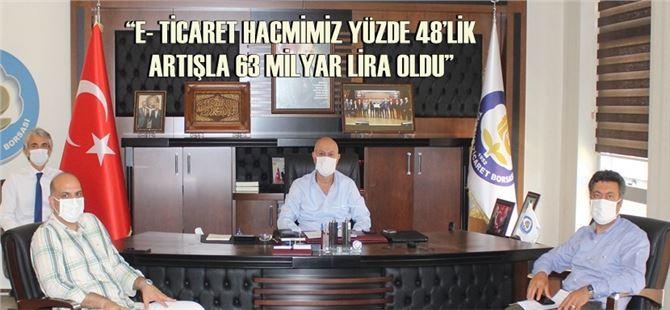 Başkan Murat Kaya, e-ticarete dikkati çekti!