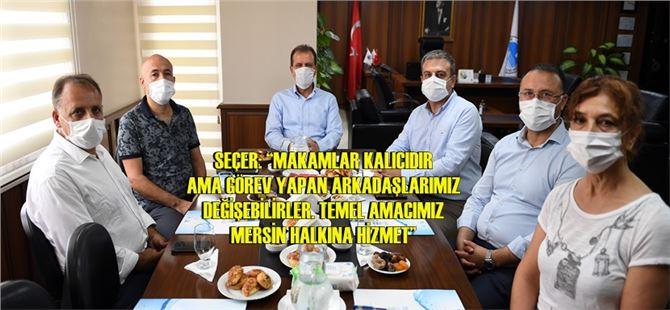 """Başkan Seçer, MESKi'de konuştu: """"Bu bir bayrak yarışı"""""""