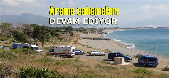 Mersin'de denize giren kadın akıntıya kapılıp kayboldu