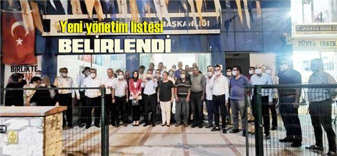 AK Parti Tarsus ilçe yönetimi belirlendi