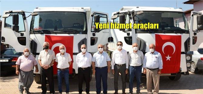 """İsmail Tepebağlı: """"Belediyemiz envanterine yeni araç alındı, hayırlı olsun"""""""