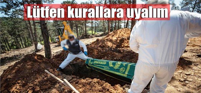 Tarsus'ta 5 kişi daha COVID-19 nedeniyle vefat etti