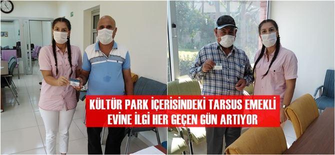 Büyükşehir Tarsus Emekli Evinde üye kartları dağıtılıyor