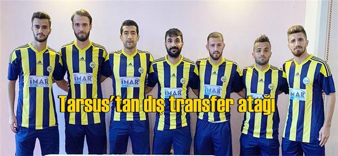 Tarsus İdmanyurdu dış transferde 7 oyuncuyla anlaştı