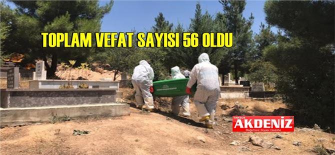 Tarsus'ta 8 kişi daha COVID-19 nedeniyle vefat etti