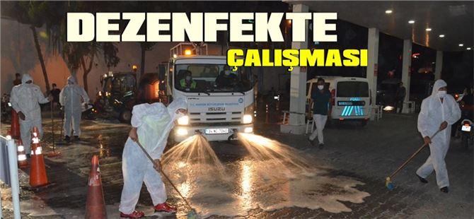 Devlet Hastanesi Acil Giriş Noktası, Büyükşehir ekiplerince dezenfekte edildi