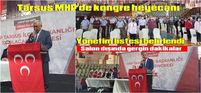 Tarsus MHP ilçe kongresi yapıldı