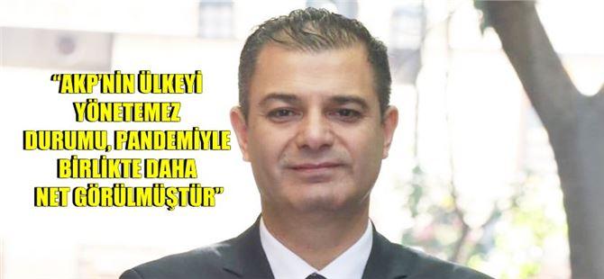CHP İlçe Başkanı Varal'dan iktidara eleştiri