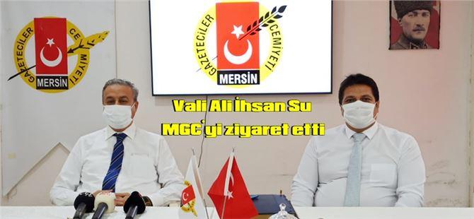 Vali Ali İhsan Su MGC'yi ziyaret etti