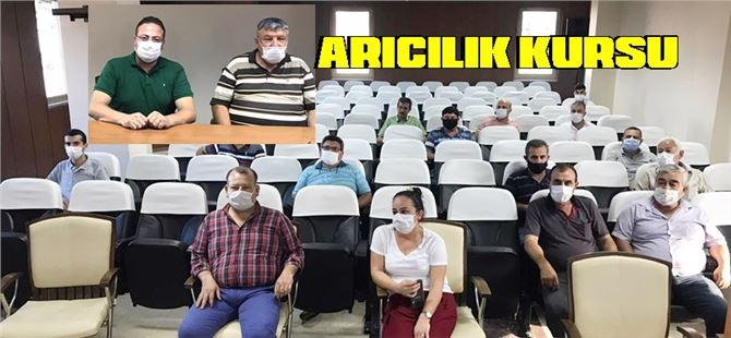 Tarsus'ta arıcılık kursu açıldı