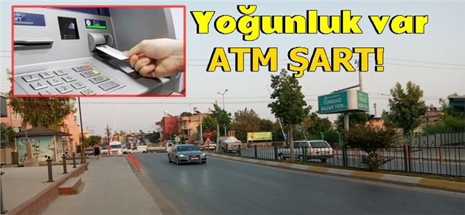Tarsus'ta Yüzüncü Yıl hemzemin geçidi civarına ATM isteniyor
