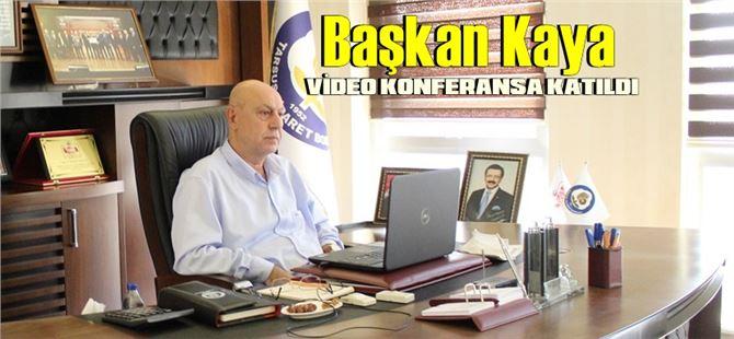 TOBB Konsey Toplantısı, video konferansla yapıldı