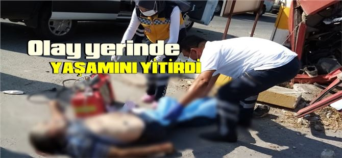 Tarsus-Mersin OSB'de kaza: 1 ölü