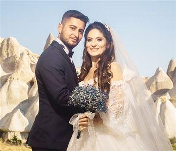 Selin ve Murat evlendi