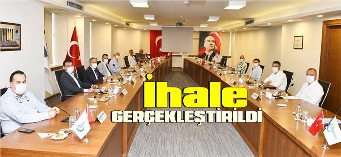 Tarsus Organize Sanayi Bölgesi altyapı işi ihalesi gerçekleştirildi