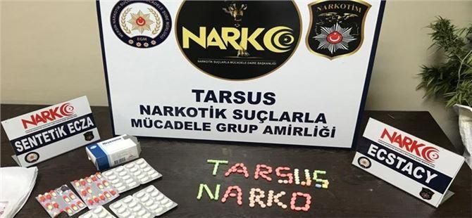 Tarsus'ta uyuşturucu operasyonları sürüyor