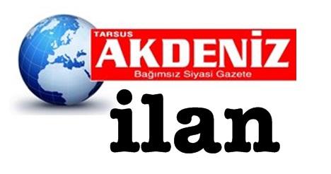 Tarsus'ta gazeteye kayıp (zayi) ilanı vermek; iletişim