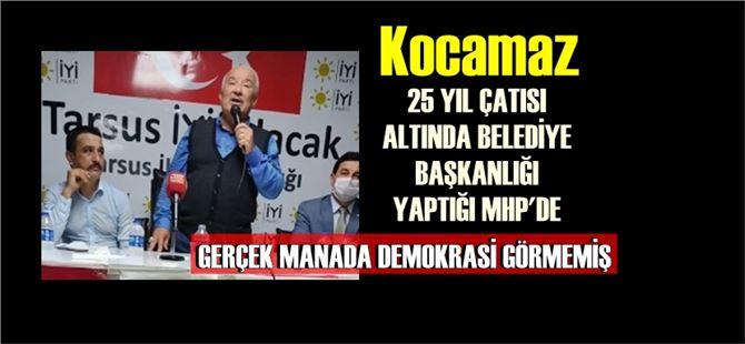 Kocamaz, Devlet Bahçeli'yi demokrat olmamakla suçladı!