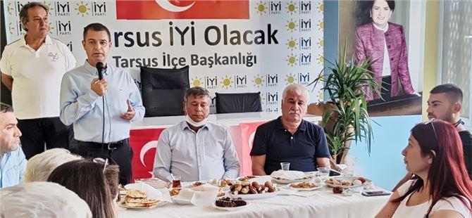 İyi Parti, kahvaltı programında CHP ilçe yöneticilerini ağırladı